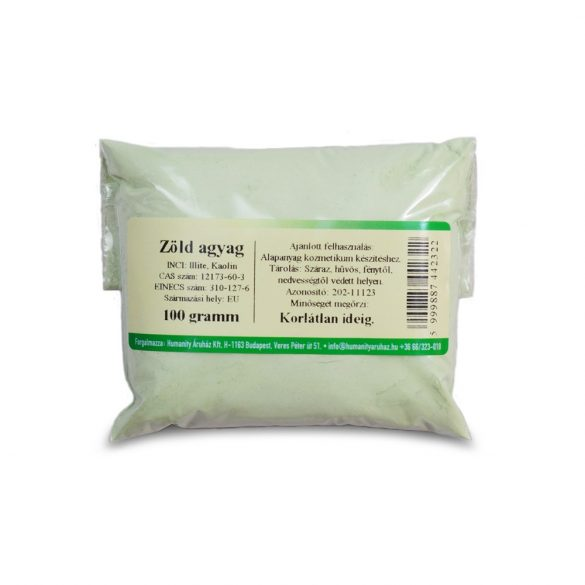 Zöld agyag 100 gramm