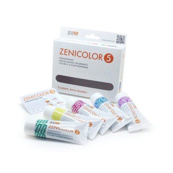 Zenicolor 5 szappanszínező csomag