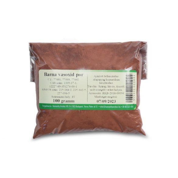 Barna vasoxid por 100 gramm